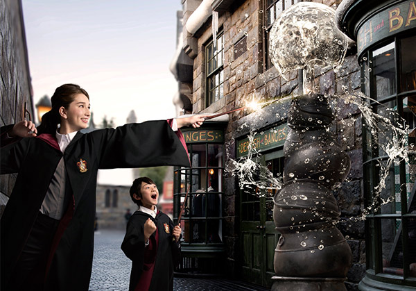 The Wizarding World of Harry Potter of Universal Studios Japan