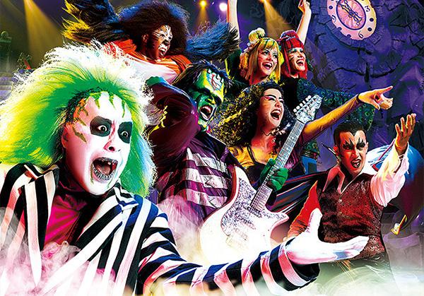 家族で楽しむUSJ「ユニバーサル・モンスター・ライブ・ロックンロール・ショー」