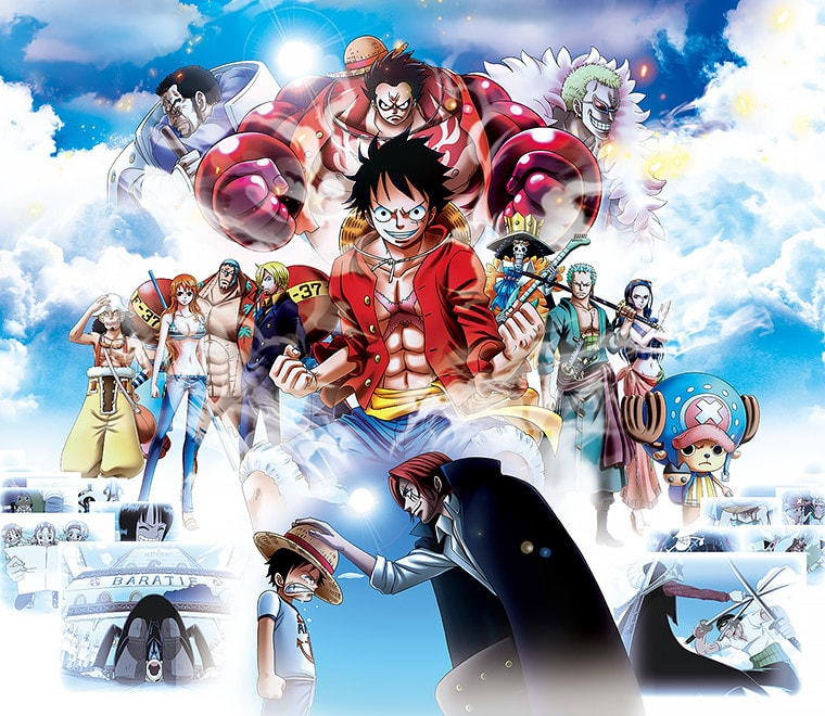 Universal Studios Japan + ONE PIECE Premier Show 10th Anniversary