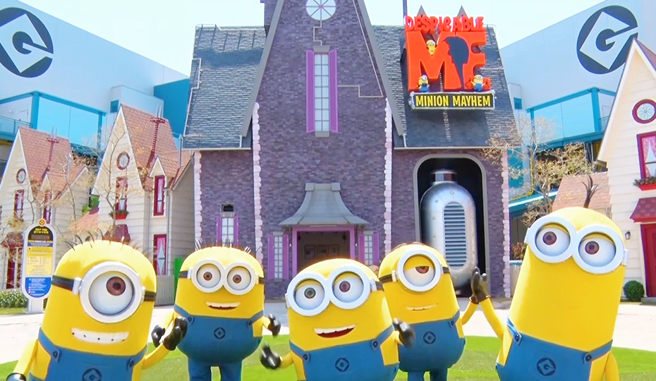 Minions Hacha-Mecha Greeting