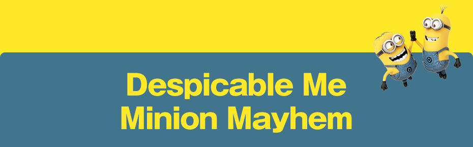 NEW! Despicable Me Minion Mayhem