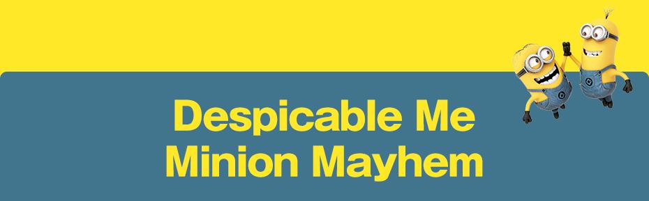 NEW! Despicable Me Minion Mayhem