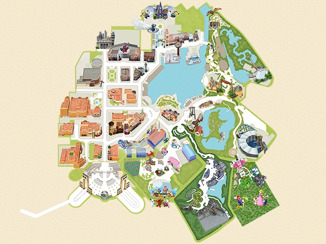 Studio MapUniversal Studios Japan USJ - Japan map download pdf