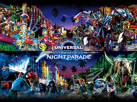 UNIVERSAL SPECTACLE NIGHT PARADE -The Best of Hollywood-