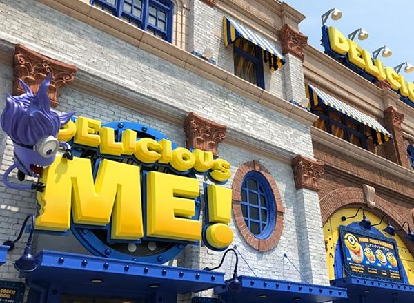 Minion Park Restaurants Universal Studios Japan Usj