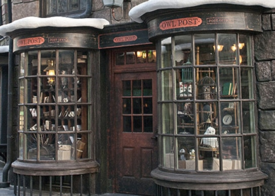 The wizarding world of harry pottershopsuniversal studios japan owl post gumiabroncs Images