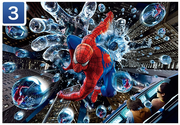 The Amazing Adventures of Spider-Man - The Ride 4K3D