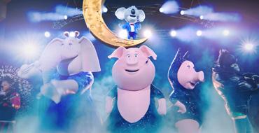 USJのアニメから飛び出したリアルなシアター・ライブ・ショー「SING」