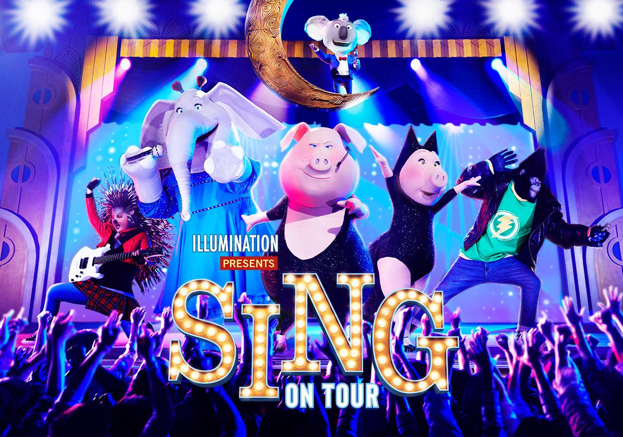 SINGは小さなお子様も一緒に楽しめるUSJのアトラクションです!